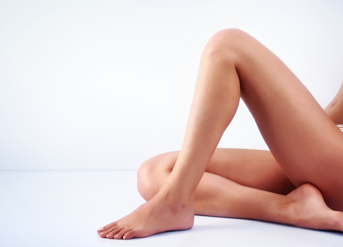 Woman's legs after TempSure Firm treatments